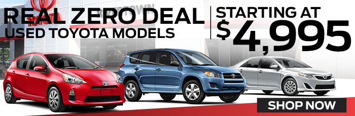 Real Zero Deal | Used Toyota Deals